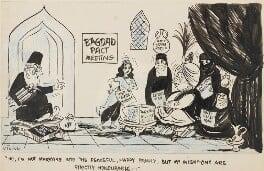 Bagdad Pact Meeting, by Victor Weisz - NPG 6673