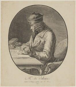 Voltaire, by Stanislas Jean, Marquis de Boufflers, 1765 - NPG D19711 - © National Portrait Gallery, London