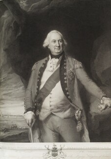 Charles Cornwallis, 1st Marquess Cornwallis, by Benjamin Smith, published by  John Boydell, after  John Singleton Copley - NPG D19717
