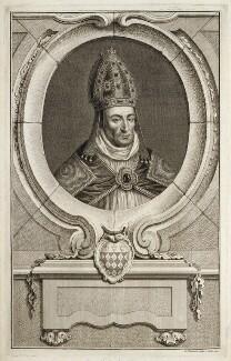 William Waynflete, by Jacobus Houbraken, published by  John & Paul Knapton - NPG D19720