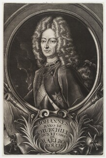 John Churchill, 1st Duke of Marlborough, published by Christoph Weigel - NPG D19728