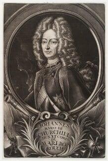 John Churchill, 1st Duke of Marlborough, published by Christoph Weigel, circa 1700-1725 - NPG D19728 - © National Portrait Gallery, London