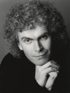 Simon Rattle, by Trevor Leighton - NPG x126722