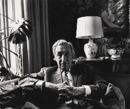 Sir Alfred Jules Ayer, by Paul Joyce, June 1975 - NPG x13445 - © Paul Joyce / National Portrait Gallery, London