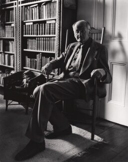 Nikolaus Pevsner, by Paul Joyce - NPG x13416