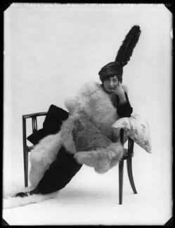 Lydia Yavorska (née Hubbenet, later Lady Pollock), Princess Bariatinsky, by Bassano Ltd - NPG x103697