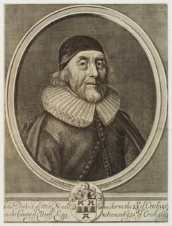 John Dethick, by Pierre Lombart - NPG D19746