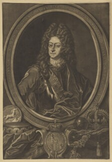 King George I, by Christoph Weigel, after  Unknown artist - NPG D16623