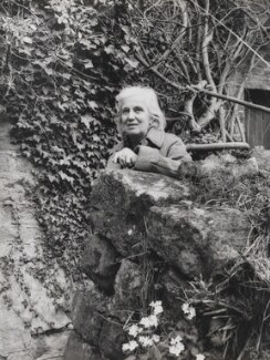 Dorothy Hodgkin, by Mayotte Magnus - NPG x18617