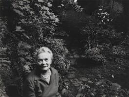 Kathleen Raine, by Mayotte Magnus - NPG x18637