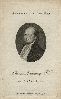 James Anderson, by Robert Scott, after  John Smart, published 1792 - NPG D16626 - © National Portrait Gallery, London