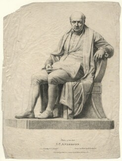 James Anderson, by Henry Corbould, after  Sir Francis Leggatt Chantrey, early 19th century - NPG D16628 - © National Portrait Gallery, London