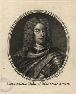John Churchill, 1st Duke of Marlborough, by William Wynne Ryland, after  Sir Godfrey Kneller, Bt - NPG D16635