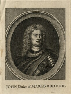 John Churchill, 1st Duke of Marlborough, after Sir Godfrey Kneller, Bt - NPG D16637