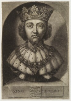 King Richard II, by John Faber Jr - NPG D19785