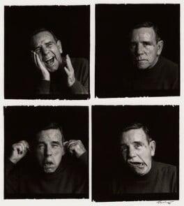 Norman Wisdom, by Trevor Leighton - NPG x38481