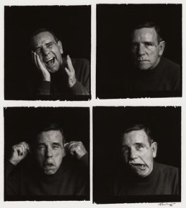 Sir Norman Wisdom, by Trevor Leighton - NPG x38481