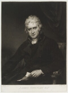 James Townley, by William Say, after  William Owen - NPG D19786