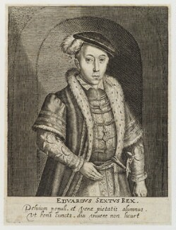 King Edward VI, by Simon de Passe - NPG D19787