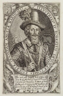 Robert Devereux, 2nd Earl of Essex, published by Compton Holland, published circa 1618-1619 - NPG D19797 - © National Portrait Gallery, London