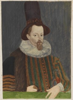 King James I of England and VI of Scotland, after Unknown artist - NPG D16663