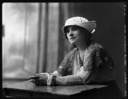 Margaret Nybloc, by Bassano Ltd, 8 April 1916 - NPG x103778 - © National Portrait Gallery, London