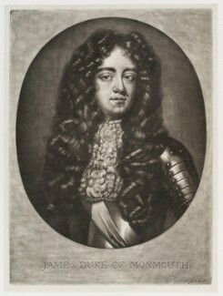 James Scott, Duke of Monmouth and Buccleuch, by and published by Pieter Schenck - NPG D19808