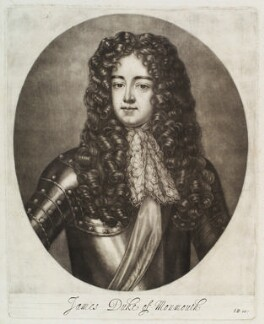James Scott, Duke of Monmouth and Buccleuch, by Abraham Blooteling (Bloteling), after  Sir Peter Lely - NPG D19810