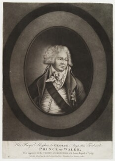 King George IV, published by John Fairburn - NPG D19819