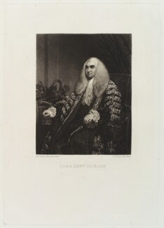 Edward Thurlow, Baron Thurlow, by and published by Samuel William Reynolds, after  Sir Joshua Reynolds - NPG D19825