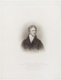 Sir George Howland Beaumont, 7th Bt, by John Samuel Agar, published by  T. Cadell & W. Davies, after  John Wright, after  John Hoppner, published 16 January 1812 (1803) - NPG D19827 - © National Portrait Gallery, London