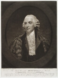 Henry Dundas, 1st Viscount Melville, by John Raphael Smith, after  Sir Joshua Reynolds - NPG D19829