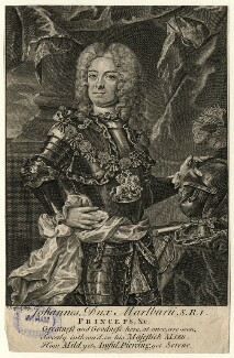 John Churchill, 1st Duke of Marlborough, by Christian Fritzsch, 18th century - NPG D16648 - © National Portrait Gallery, London