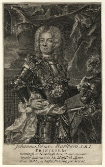 John Churchill, 1st Duke of Marlborough, by Christian Fritzsch - NPG D16649