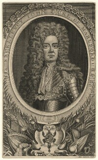 John Churchill, 1st Duke of Marlborough, by Henry Roberts, after  Sir Godfrey Kneller, Bt - NPG D16653