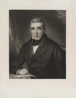 Sir John Barrow, 1st Bt, by George Thomas Payne, after  John Lucas - NPG D19840