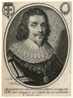 George Villiers, 1st Duke of Buckingham, published by Balthasar Moncornet, after  Unknown artist, 1657 - NPG D16664 - © National Portrait Gallery, London