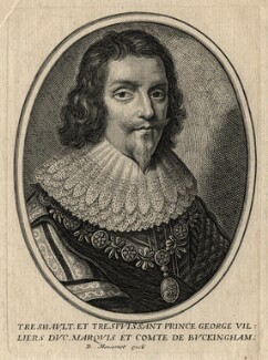 George Villiers, 1st Duke of Buckingham, published by Balthasar Moncornet, after  Unknown artist, 1657 - NPG D16665 - © National Portrait Gallery, London
