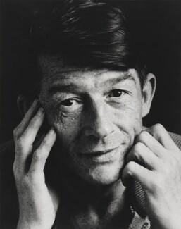 Sir John Hurt, by Trevor Leighton, 1984 - NPG x27941 - © Trevor Leighton / National Portrait Gallery, London