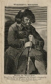 Peter the Wild Boy, published by C. Johnson, after  Unknown artist - NPG D16684