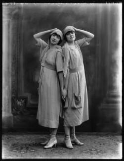 Hilda Kirkby; Evelyn Kirkby in 'His Little Widows', by Bassano Ltd - NPG x103835