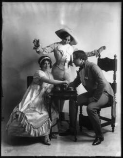 Ivy St Helier; Marjorie Maxwell; Leslie Stiles, by Bassano Ltd - NPG x103842