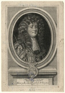 Henry Bennet, 1st Earl of Arlington, after Sir Peter Lely - NPG D16722