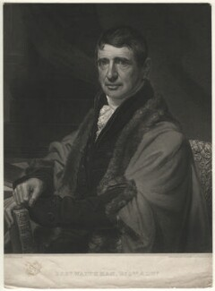 Robert Waithman, by Edward Scriven, published by and after  William Patten - NPG D16719