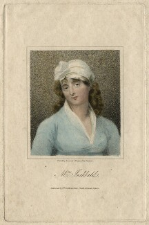 Elizabeth Inchbald (née Simpson), by Samuel Freeman, published by  William Smith, after  Sir Thomas Lawrence - NPG D16735