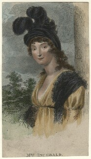 Elizabeth Inchbald (née Simpson), after Samuel Drummond - NPG D16736