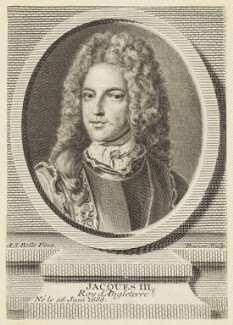 Prince James Francis Edward Stuart, by Pierre François Basan, after  Alexis Simon Belle - NPG D16755