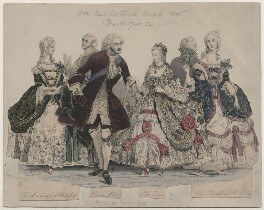 H.M. Bal Costumé June 6 1845, by Unknown artist - NPG D16761