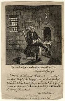 William Myddelton; Bishop of St Asaph, by Unknown artist - NPG D16768