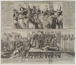The Gunpowder Plot Conspirators, 1605, by Unknown engraver - NPG D19881